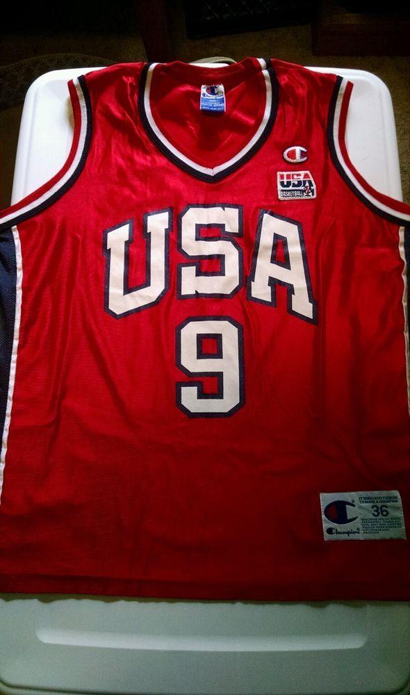 Champion USA Olympics Lisa Leslie Replica Jersey size 36 #Champion