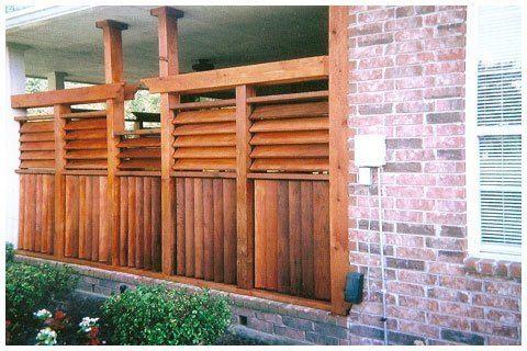 Fences Flex Fence Louver System Ideas For The House