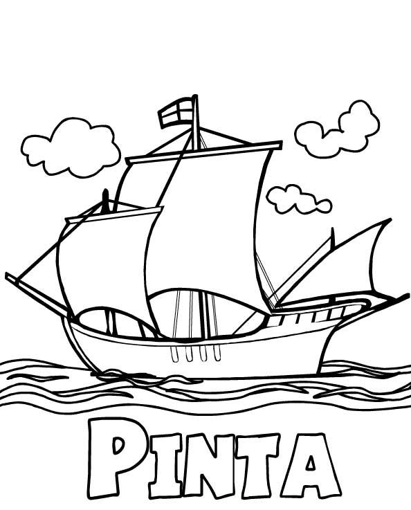 Columbus Day Coloring Pages Coloring Pages For Kids Coloring
