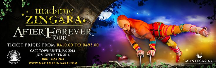 Madame Zingara - After Forever Tour - Theatre of Dreams - Cape Town - Johannesburg
