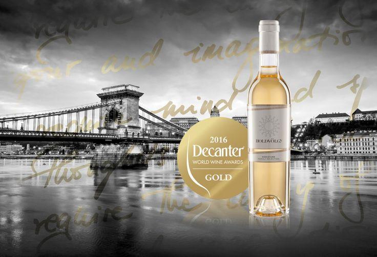 Holdvölgy Signature 2011 sweet selection du domaine was awarded Gold Medal at The 2016 Decanter World Wine Awards   Www.shop.holdvolgy.com   Holdvölgy Tokaji winery Mád Tokaj-Hegyalja Hungary