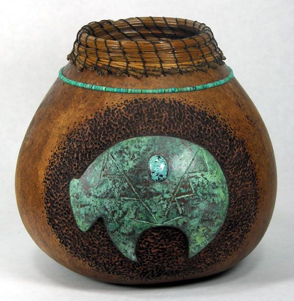 Judy Ritchie, one of the most talented gourd artist I have ever seen.