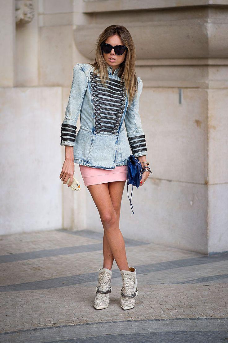 Street style semana de moda en Paris primavera verano 2014 Moda en la calle | Galería de fotos 4 de 28 | Vogue México