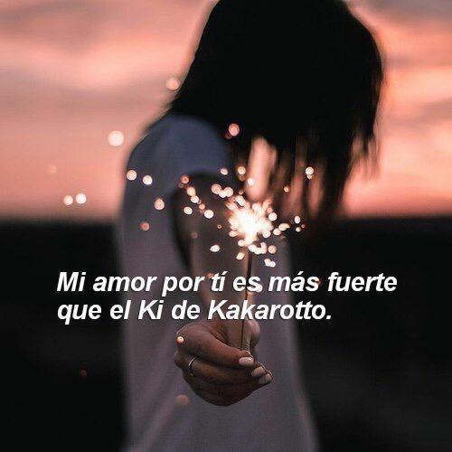 I amor por ti.