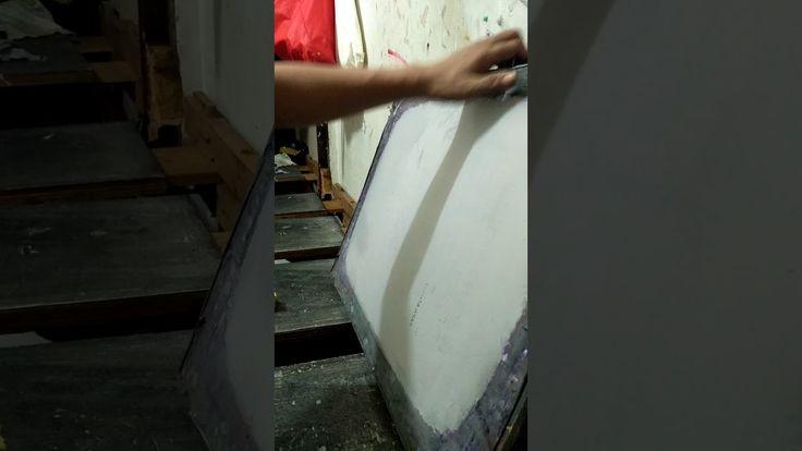 Tips sederhana membersihkan screen sablon dari noda