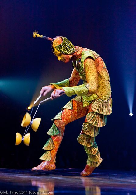 Shell pants Cirque Du Soleil Ovo costume
