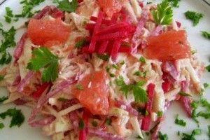 Salata din piept de pui cu grapefruit - Culinar.ro