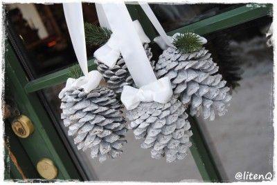 Kongler på utgangsdøra. http://inspirasjon.litenq.no