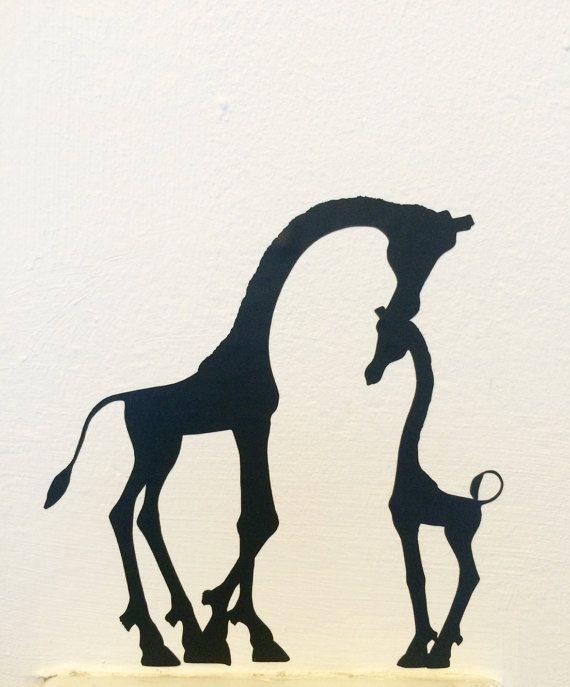 Luxury Giraffe Licht Schalter Aufkleber Schalter Giraffe Aufkleber Mutter u Kind Giraffe Wandtattoo Kinderzimmer