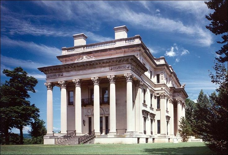 Vanderbilt Mansion National Historic Site, located in Hyde Park, New York, is one of America's premier examples of the country palaces built by wealthy industrialists during the Gilded Age.
