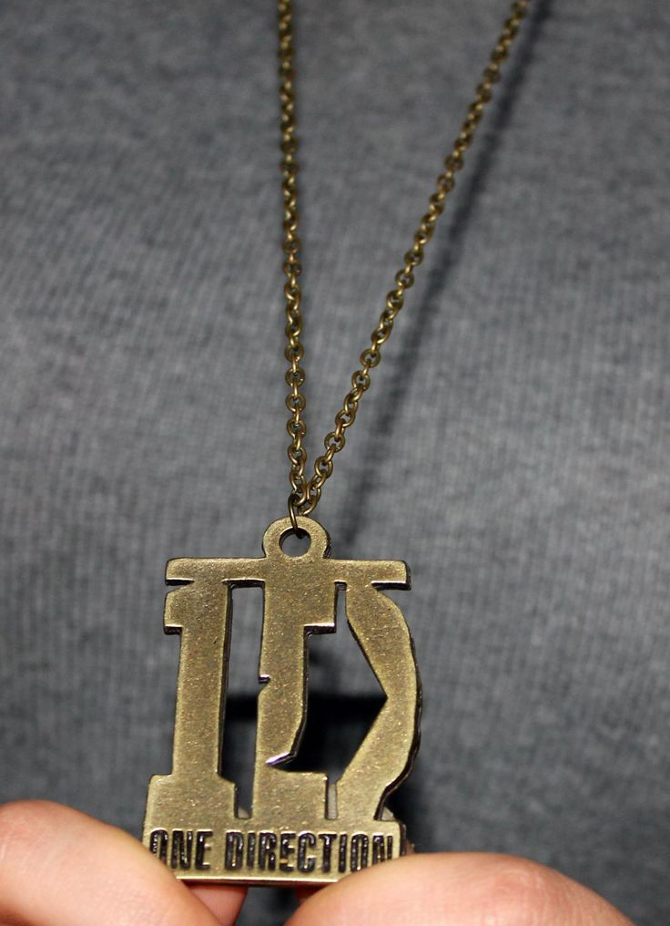 One Direction Designed Necklace,Long Antique Bronze Necklace