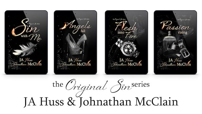 Rainy Days and Pajamas: Book Trailer & Giveaway: Sin With Me by JA Huss & Johnathan McClain