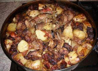 χοιρινός τταβάς, κυπριακή συνταγή
