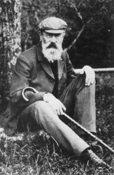 Nikolai Rimsky-Korsakov taking a load off in the grass. Happy Birthday, Nikolai Rimsky-Korsakov!