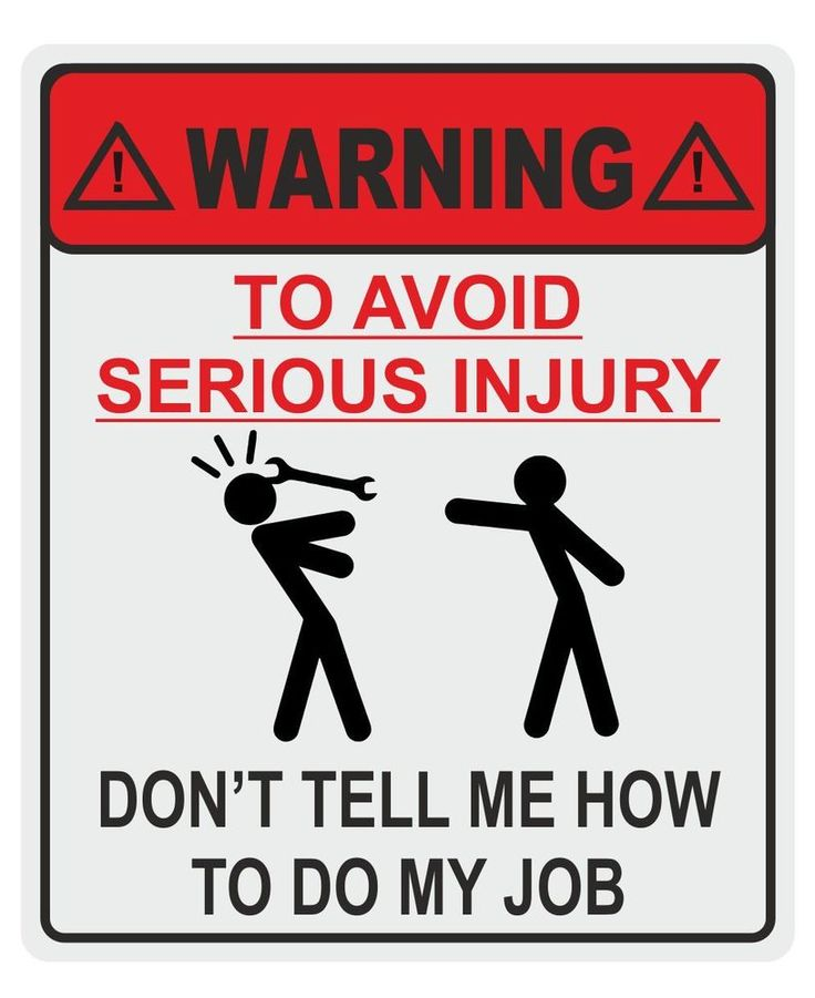 2 x large Funny Don t tell me how to do my job tool box Mechanic Garage sticker