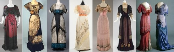 {costumes of Downton Abbey}