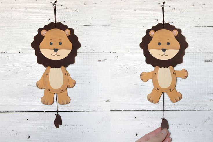 ✦ Bastelanleitung Hampel-Löwe