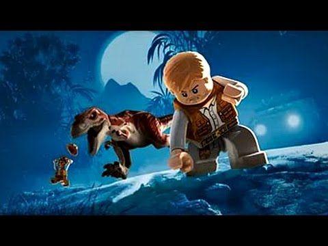 Lego Jurassic World.Динозавры Охотники.Игры и Мультики про Динозавров.Па...