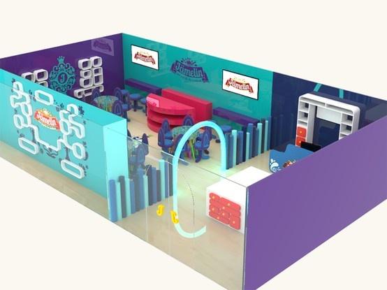 Render Espacio Comercial Diseño: D.G. Adalberto Arango / D.G. M. Carolina Montoya. Render: D.I. Marcela Castro