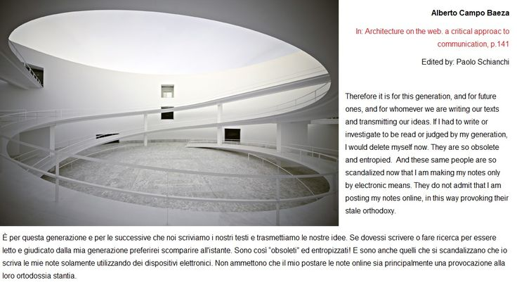 http://www.amazon.es/Architecture-critical-approach-communication-pensieri/dp/8862925441/ref=sr_1_2?ie=UTF8&qid=1422692022&sr=8-2&keywords=paolo+schianchi