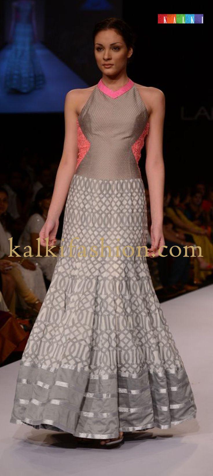 http://www.barcode91.com/  Models showcasing the collection of designer Shravan Kumar at Lakmé Fashion Week Winter Festive 2013