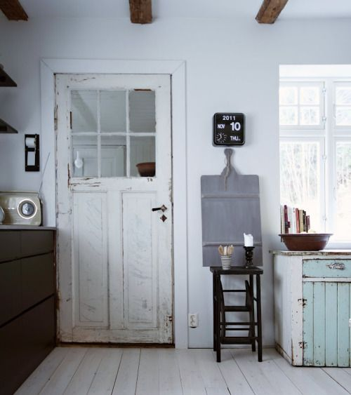 The renovated home of blogger Monica Bromseth of Karlottes Hjem in Norway.