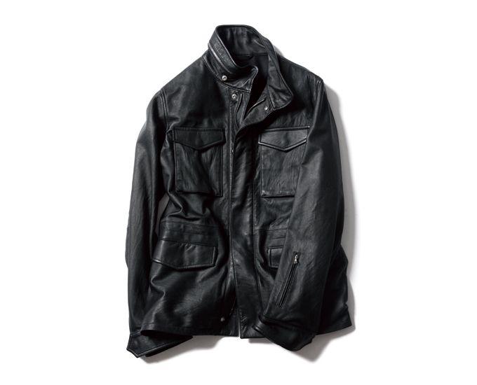 Washed Leather Field Blouson by Sophnet: Leather Field, A W Product, Field Blouson, Products, 2012 2013 A W