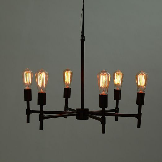 Industrial Chandelier | west elm | $249