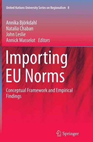 Importing Eu Norms: Conceptual Framework and Empirical Findings