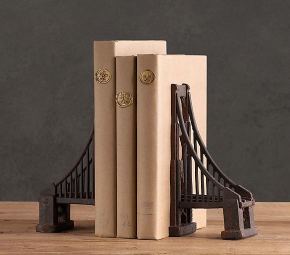 Golden Gate Bridge Bookends
