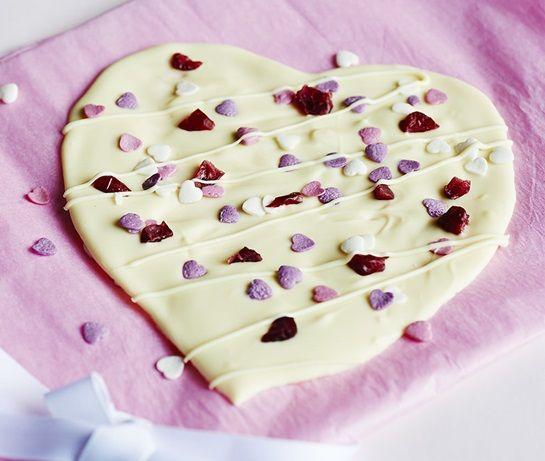 Chocolate Heart Slab | ASDA Recipes