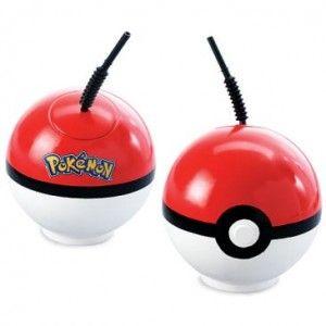 Pokemon Poke Ball Cup Birthday Party Favor