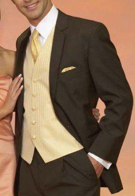 Best 25  Brown tux ideas on Pinterest | Suit vs tuxedo, Groom and ...