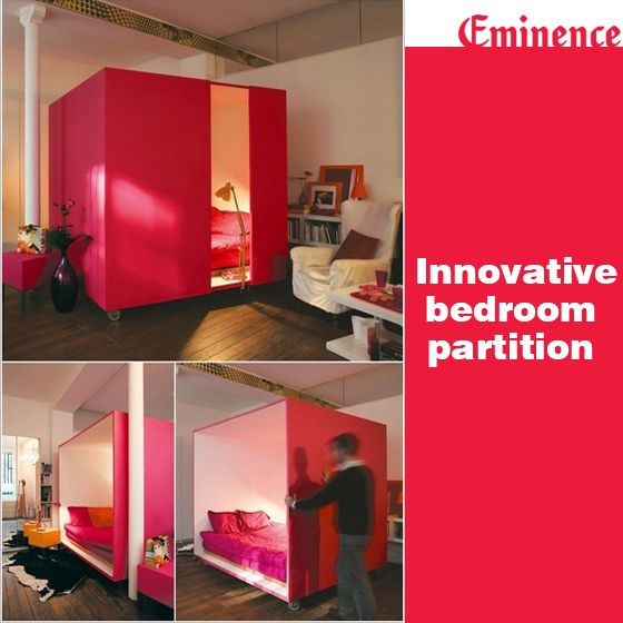 Check Out This Innovative Bedroom Partitioning Which