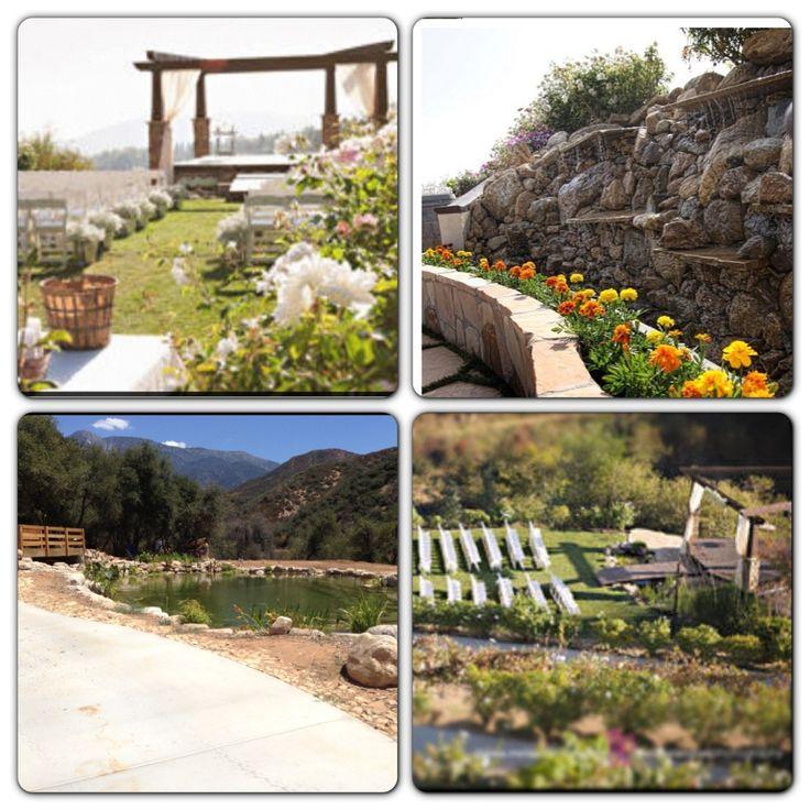 Serendipity Garden Weddings Oak GlenCA Amies beautiful venue