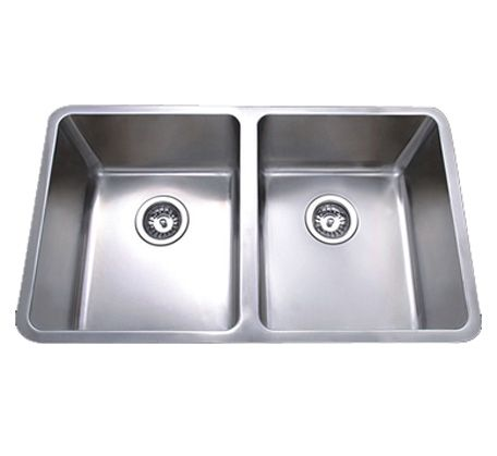 Momento Double Bowl Undermount Stainless Steel Sink | Bathroomware House