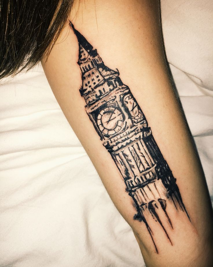 best 25 big ben tattoo ideas on pinterest skyline tattoo simple foot henna and cincinnati tattoo. Black Bedroom Furniture Sets. Home Design Ideas