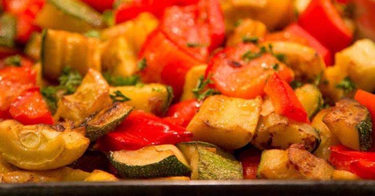 Zucchini, Squash & Bell Pepper Casserole