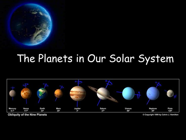 our solar system planets in order with no pluto - photo #12