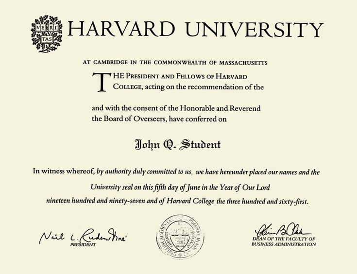 diploma harvard - Cerca con Google