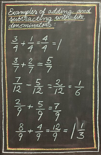 4th Grade Fractions | Flickr - Photo Sharing!