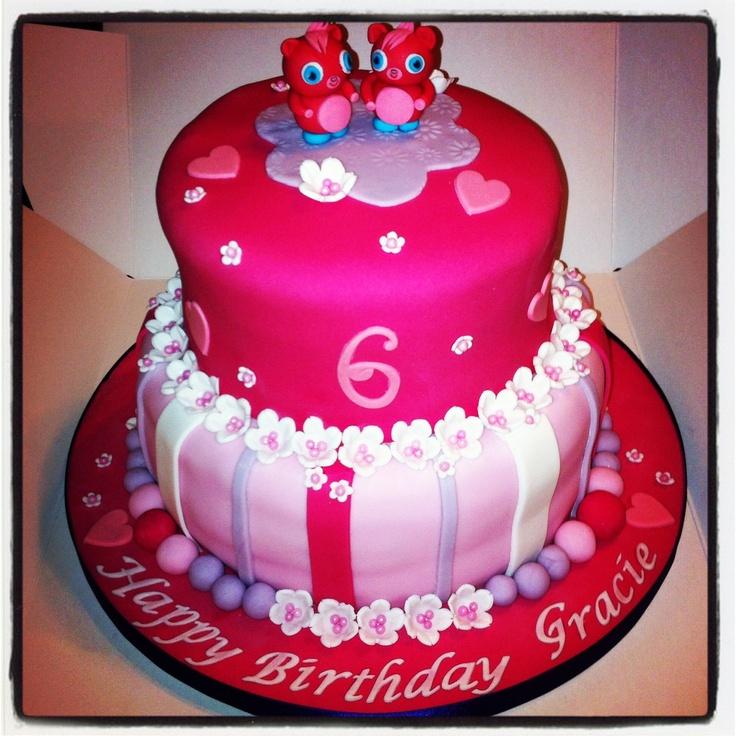 Cake Decorating Carmarthen : Poppet Moshi Monster Birthday Cake Cake a Wish ~ My ...