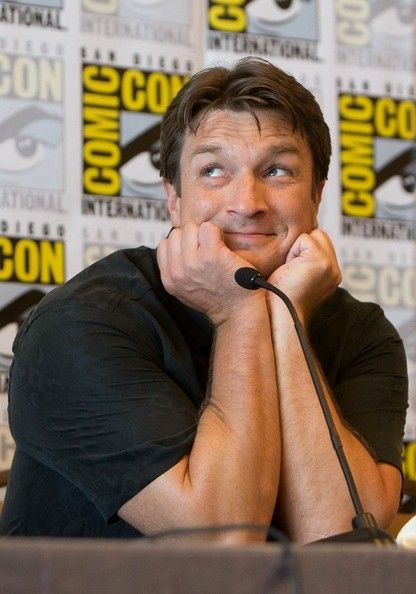 Nathan Fillion - just being adorable