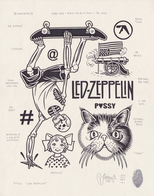 Led Zeppelin, 2013.                                                                                                                                                     Mais