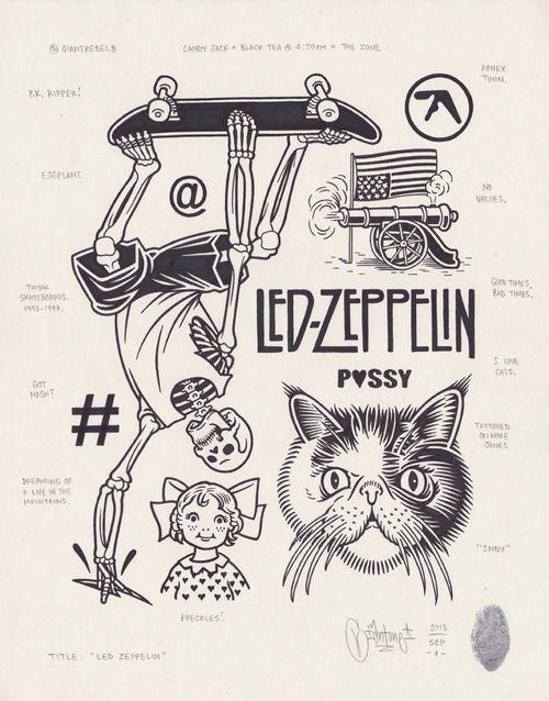 Led Zeppelin, 2013.                                                                                                                                                     Mais