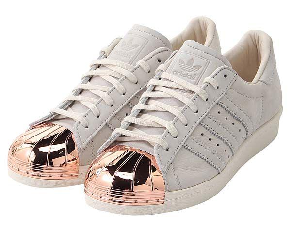 Adidas Superstar Rose Gold Tip