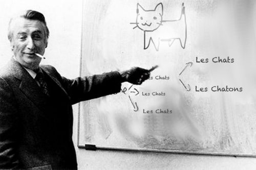 Roland Barthes teaching a very important lesson