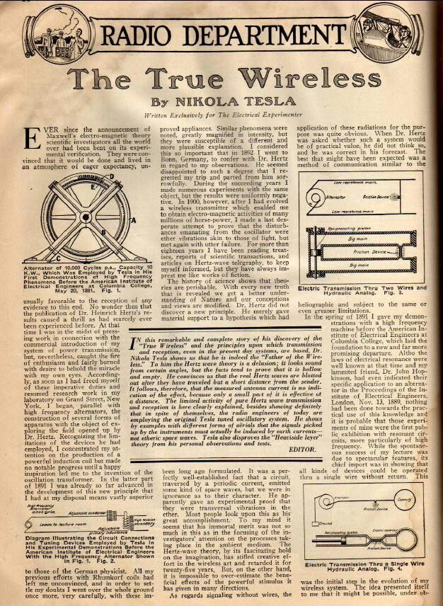 articles around tesla