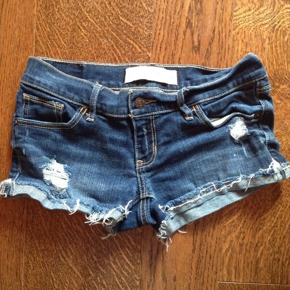 Abercrombie and Fitch shorts Destroyed Abercrombie and Fitch short shorts. Abercrombie & Fitch Shorts Jean Shorts