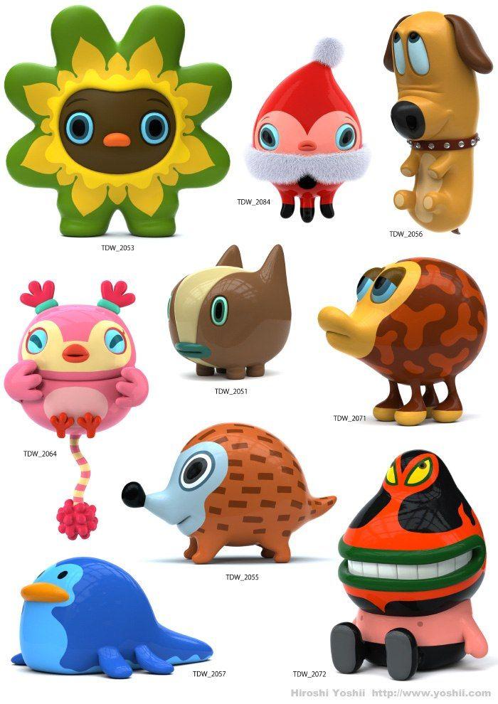 Hiroshi Yoshii designer toys
